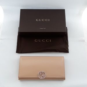 New in box 100% authentic Gucci wallet. 369670